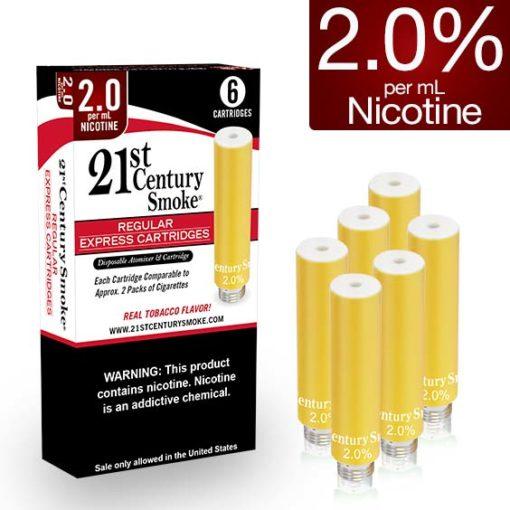 Refill Cartridge 6 Pack Foil – Regular 2.0% – Nicotine
